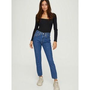NWT LEVI'S 501 High Rise Skinny Jean Sansome